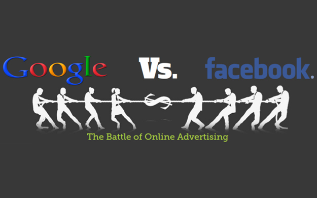 Facebook VS Google portada